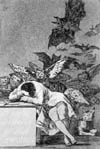 Франсиско Гойя (Francisco Goya). Сон разума порождает чудовищ (The Sleep of Reason Brings Forth Monsters)