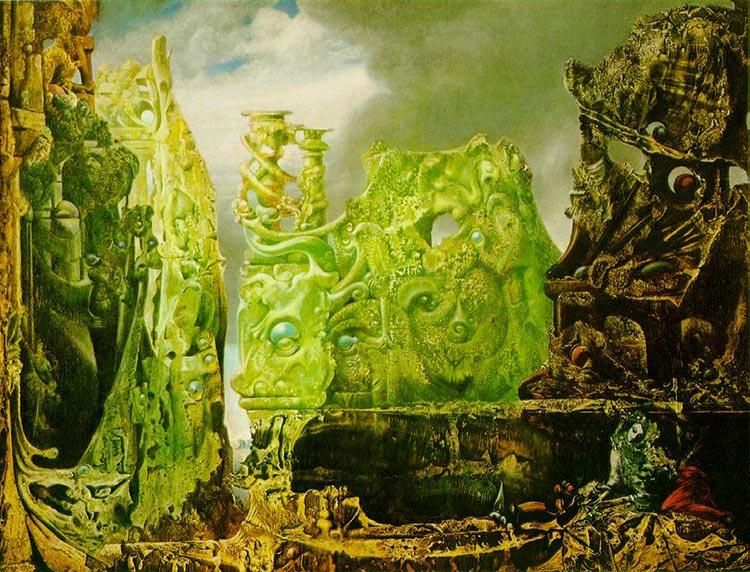 Макс Эрнст (Max Ernst). Око безмолвия (The Eye of Silence)
